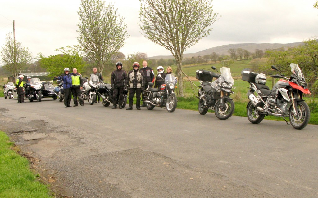Rest stop at Smallburn Nr Muirkirk