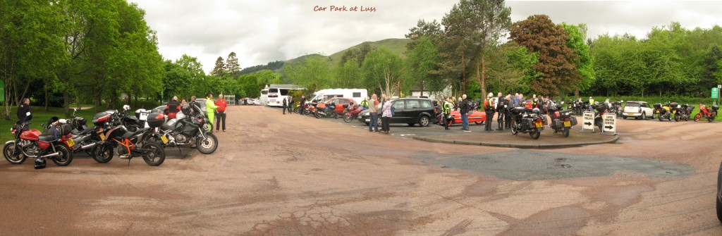 Car Park at Luss