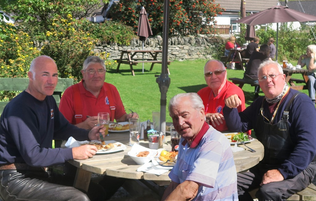 Lunch at Kilmartin